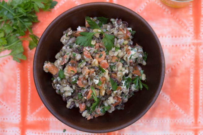 lentil salad from above