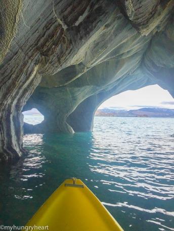 Kayaking Marble Caves